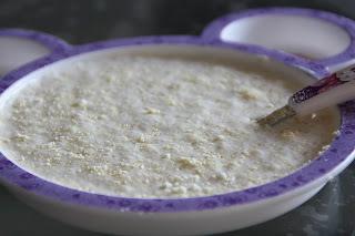 Mingau de farinha láctea