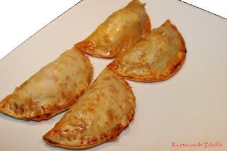 Empanadillas de primavera y Empanadillas de surimi