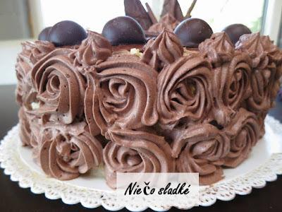 Vanilkovo-čokoládová torta