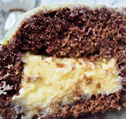 bolo de chocolate com recheio de mousse de limao