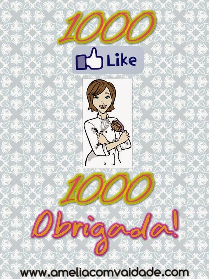 1000 Fãs no Facebook