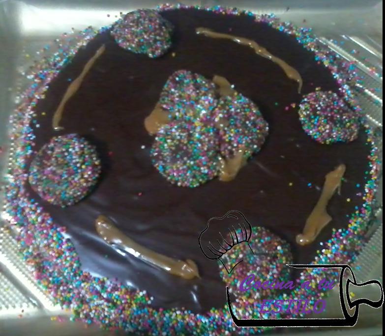 Torta de trufa de chocolate