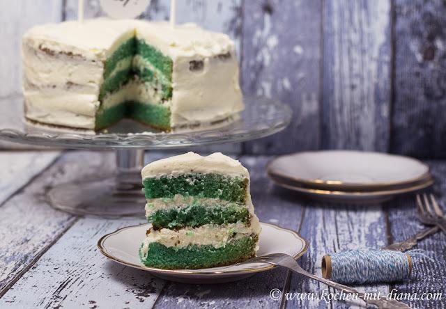 Mitzia's Babyshower - Blue Velvet Cake