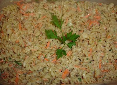 Salada de Macarrão (Muito Fácil)