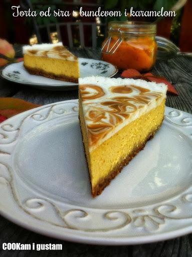 Cheesecake s bundevom i karamelom