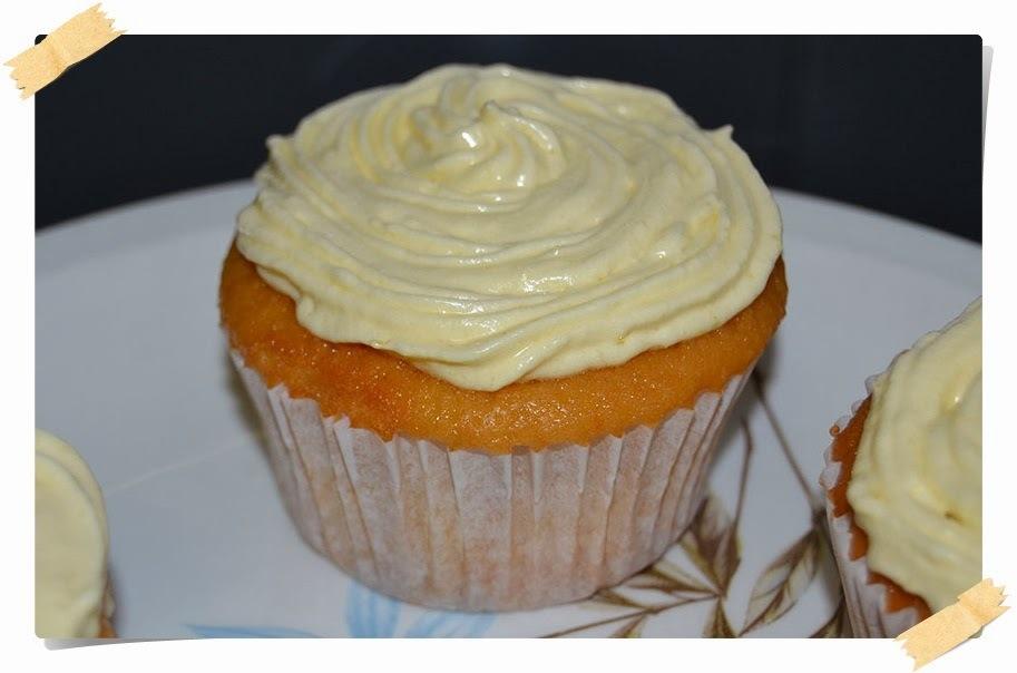 Cupcakes de 'Lemon curd' (crema de limón)