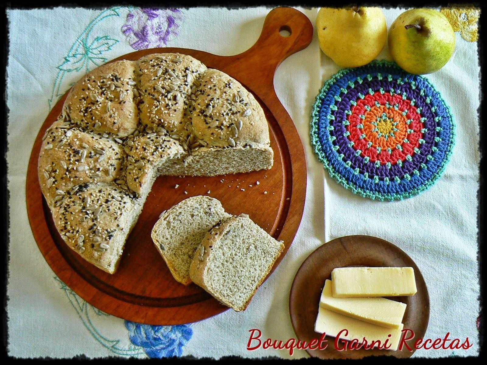 Pan de papa y hongos