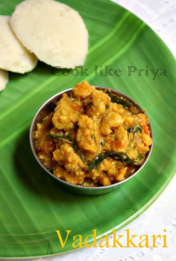 VadaKari | South Indian breakfast Special