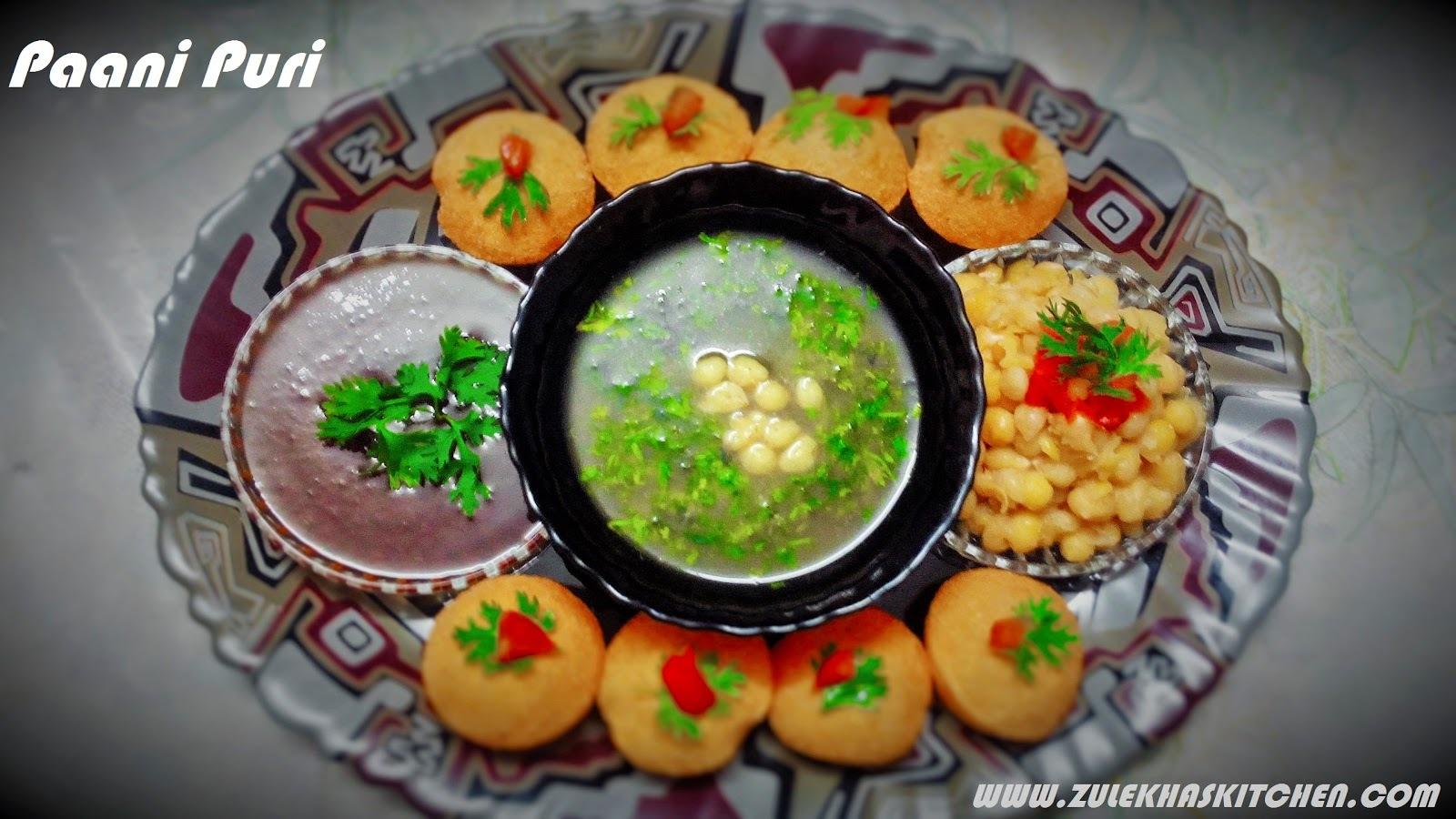 Recipe of Paani Puri