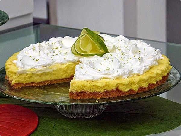 torta de limão com biscoito ana maria braga