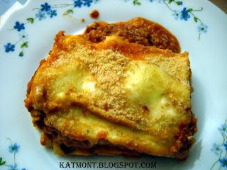 Lasanha bolonhesa - Lasagne à la bolognaise