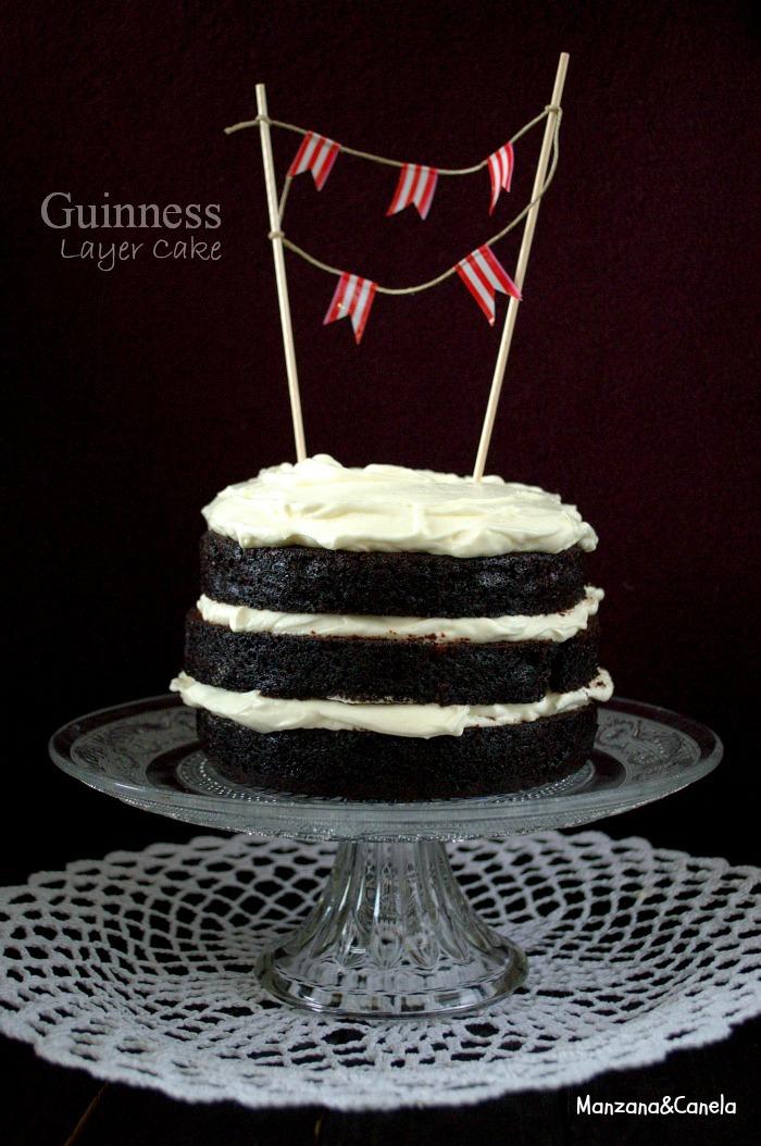 Guinness Layer Cake... y resultado del Concurso Primer CumpleBlog!