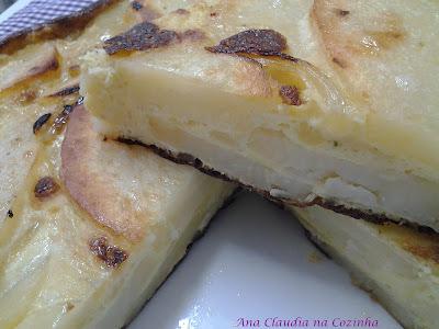 omelete com ovo de pata