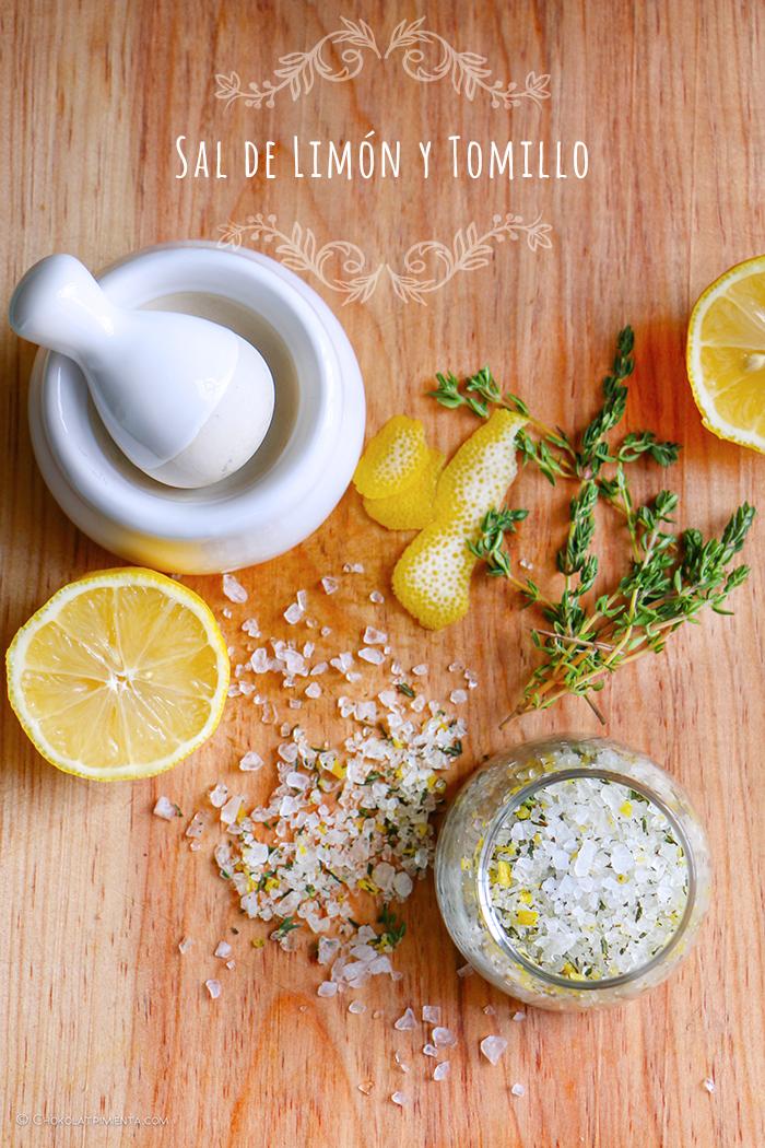 Sal de Limón y Tomillo