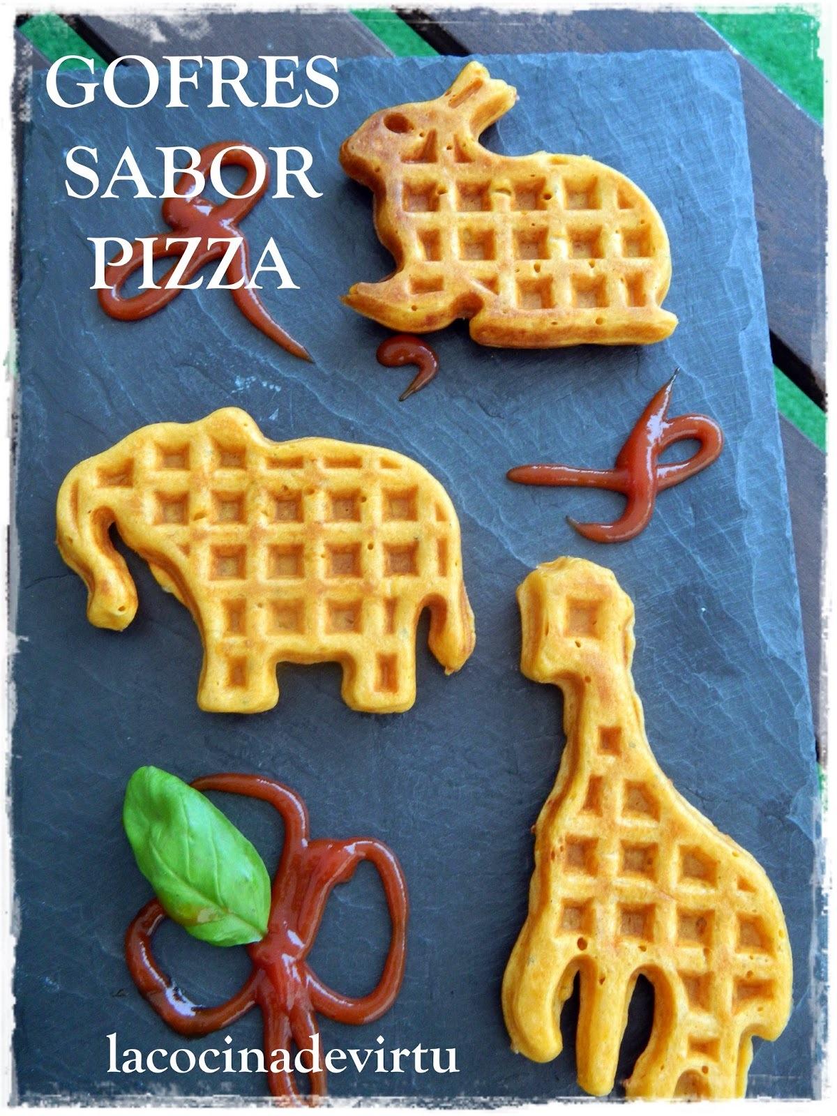 GOFRES SABOR A PIZZA