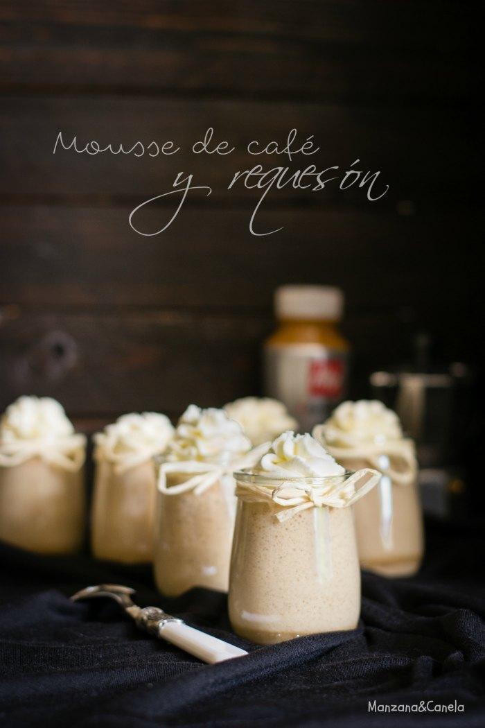 Mousse de café y requesón