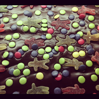 Langpannesjokoladekake