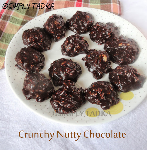 Crunchy Nutty Chocolates
