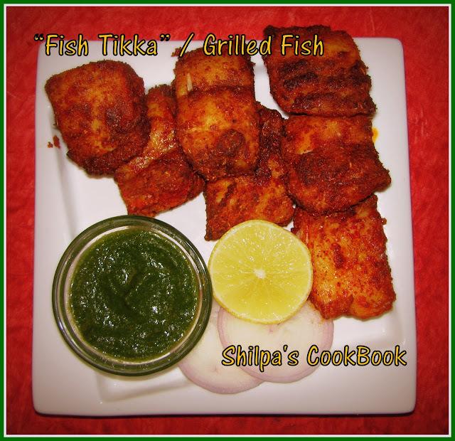 Fish Tikka