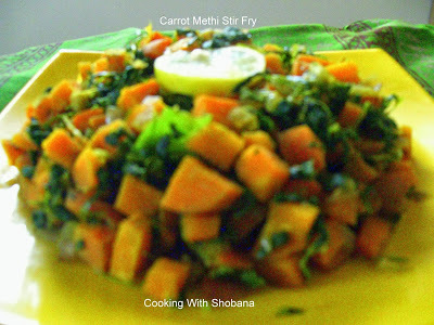 CARROT & METHI SABJI
