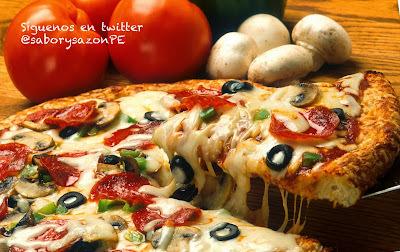 COMO PREPARO UNA PIZZA