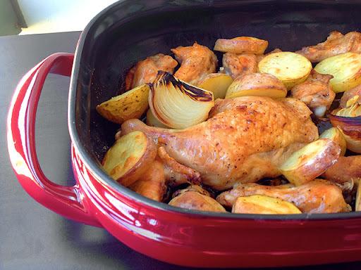 como temperar coxa de frango para assar no forno com mostarda