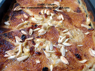 Shahi Tukra (The Royal Bread Pudding)-The Easy Baked Way!