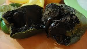 recetas yucatecas - Dulce de Zapote negro