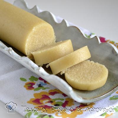 de bolo de nata simples caseiro