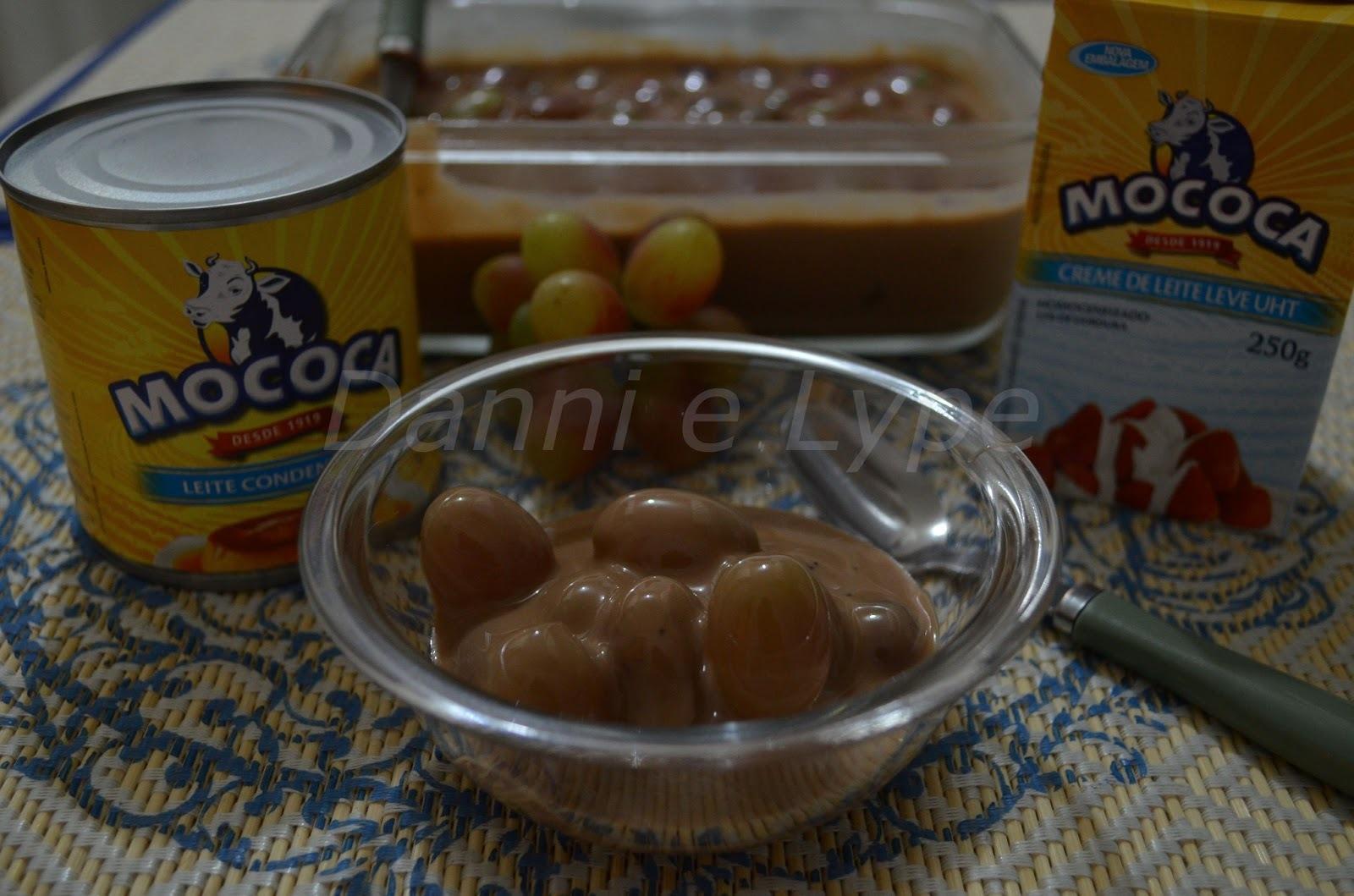 sobremesas de uva com chocolate