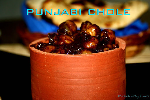Punjabi Chole ( Made in an authentic way with homemade masala!!)