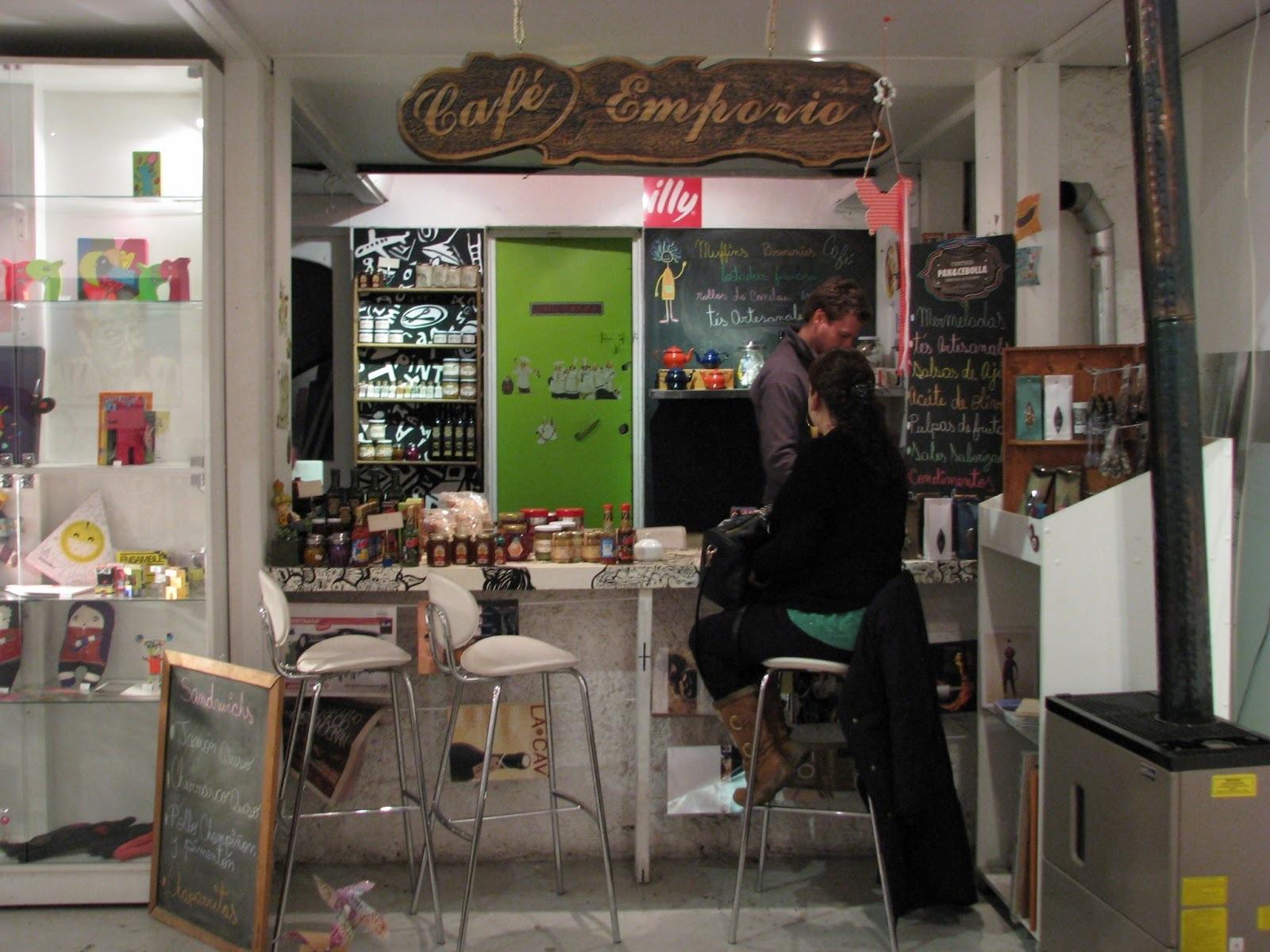 Contigo Pan & Cebolla : cafetería y emporio gourmet