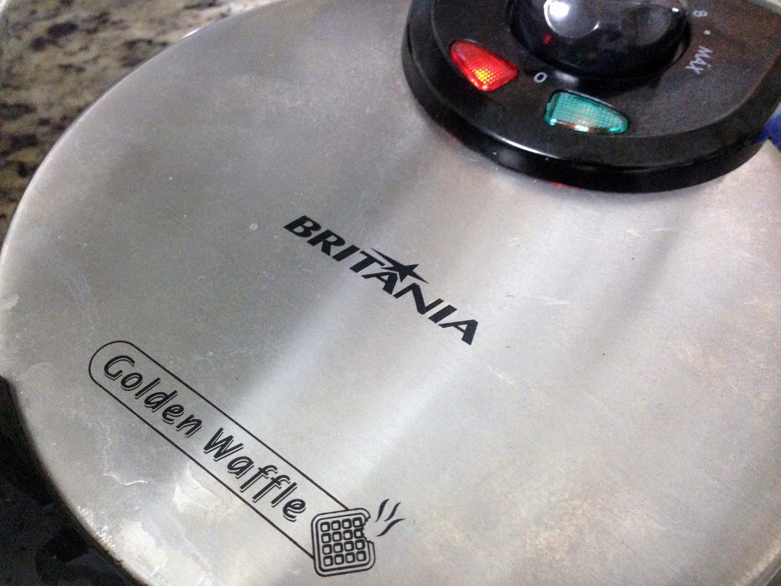 Máquina de waffle e a receita do waffle perfeito