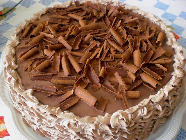 Torta Chifon de Chocolate
