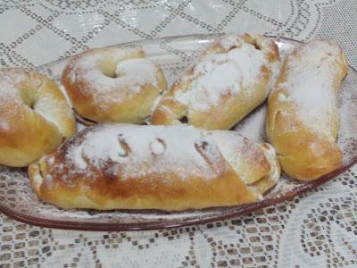 massa fofinha de pão recheado