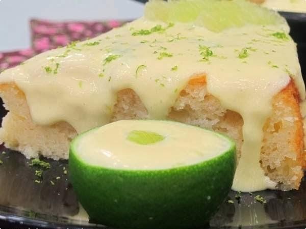 bolo de limão com iogurte ana maria braga
