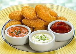 Nuggets de Frango ao Molho de Páprica