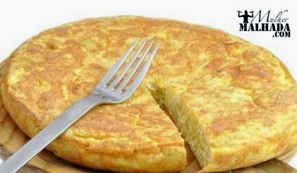 Receita de omelete de batata doce