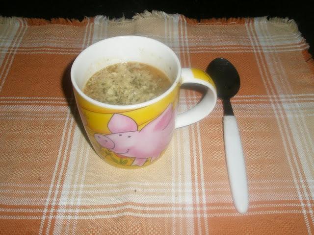 Sopa de Legumes com carne e aveia