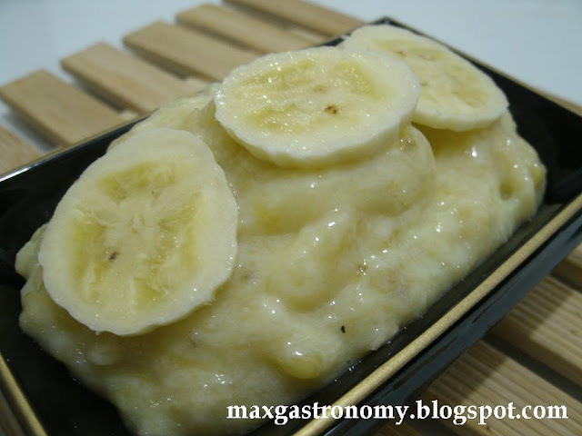 Receita No. 148 - Bananada (Banana Amassada com Leite)