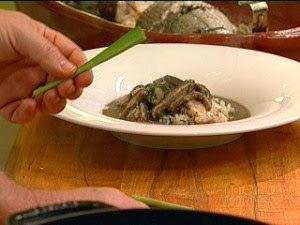 de molho de ervas para peixe no vapor