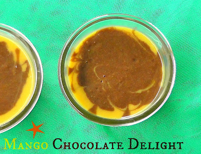 Mango Chocolate Delight