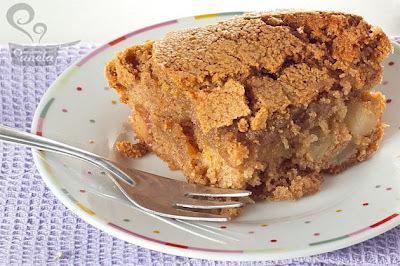 Torta de maçã com casquinha crocante
