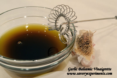 Garlic Balsamic Vinaigrette