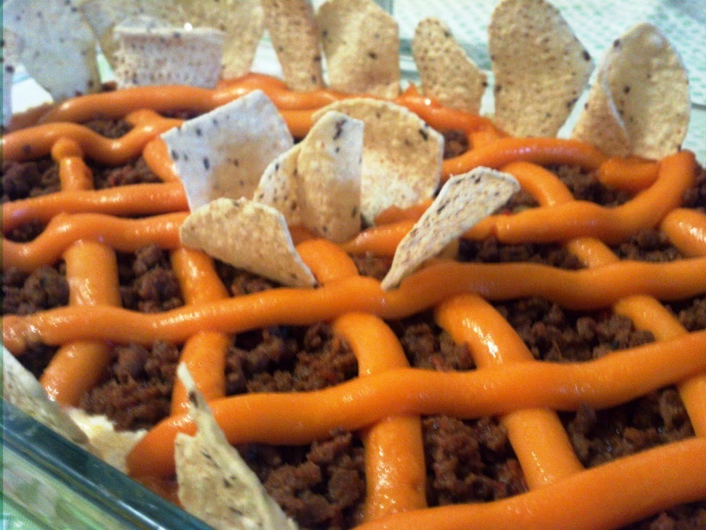 Comida Mexicana: Nachos vegetarianos