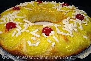 Como preparar rosca tradicional de Pascua