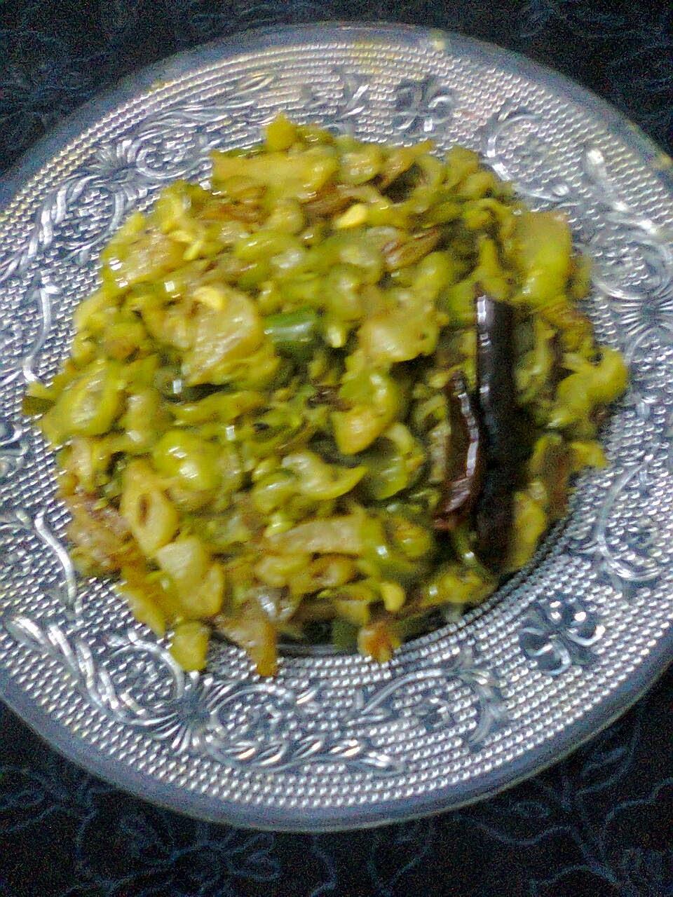 Side Dish For Roti/Chapati  - Kundri (Ivy Gourd/Tindora) Curry.