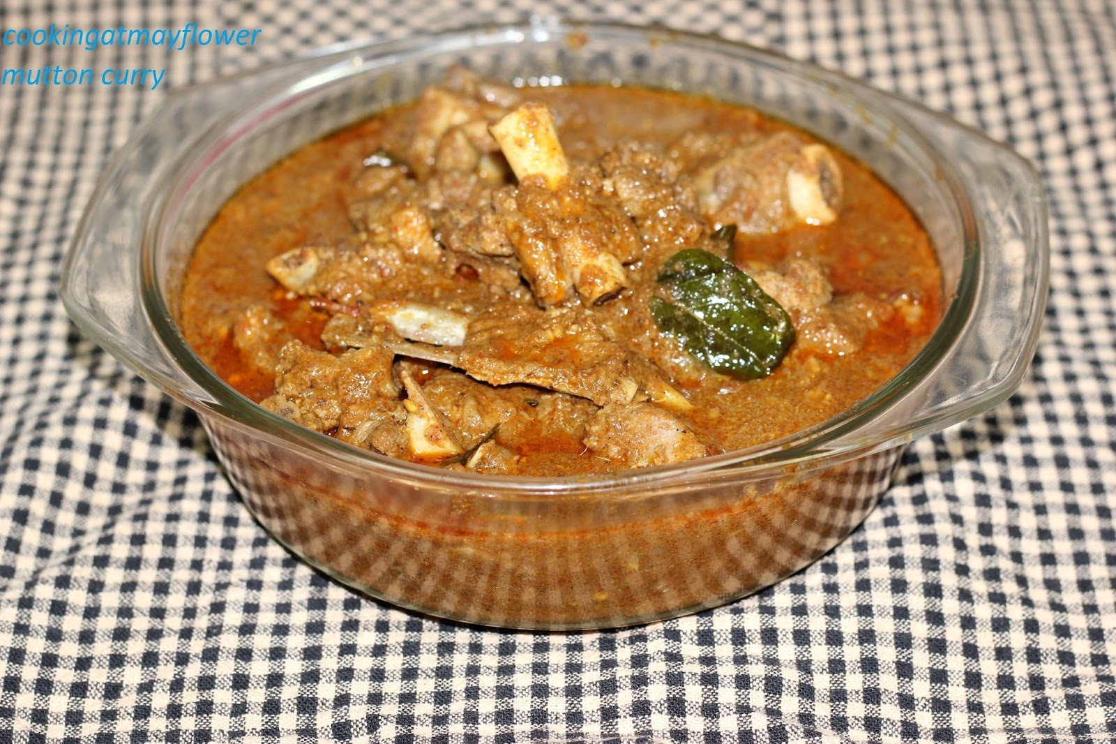 Spicy Mutton curry (Roasted coconut mutton curry)