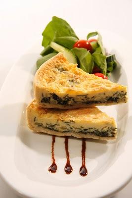 Tarta de espinacas y queso facil