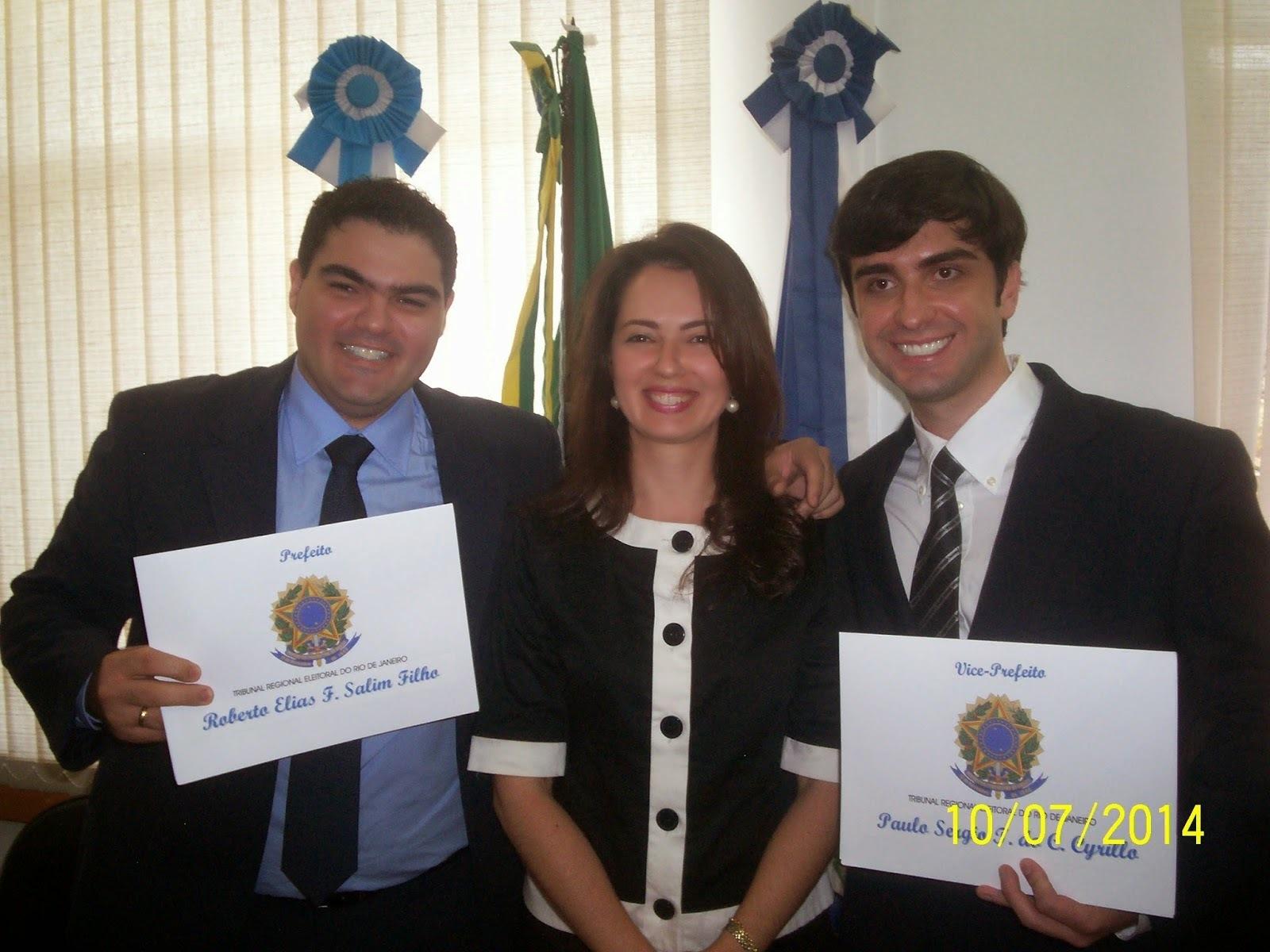 Roberto Tatu e Paulo Sérgio tomam posse da prefeitura de Bom Jesus